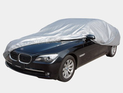Car cover double material